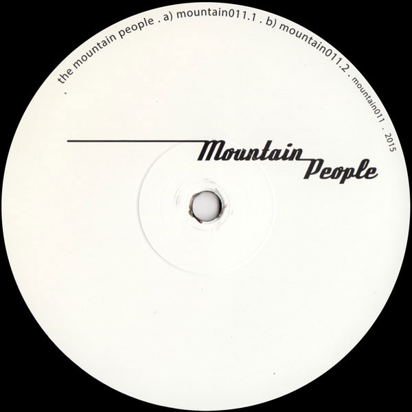 Mountain People - 6.3 [DEEP HOUSE] Excellent release from the mysterious DJ collective hailing from Switzerland. This is a banger.